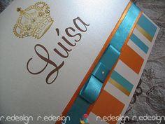 Os Convites da R.E Design  são feitos por Encomenda Personalizada! Você Pode Personalizar - Cor - Imagem - Texto ... Deixamos Perfeitos.