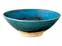 Tang dynasty china blue-glazed pottery bowl