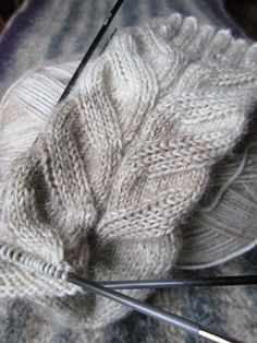 stricken - das werden handstulpen - by leekay.de
