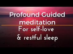 FALL DEEPLY ASLEEP A SLEEP RECIPE guided meditation - extended - YouTube