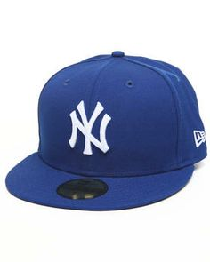 Love this New York Yankees Royal/White 5950 fitted hat by... on DrJays. Take a look and get 20% off your next order!