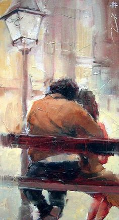 Image result for impressionist painting of couple