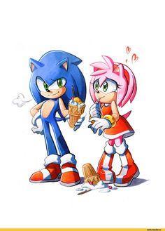 Sonic,соник, Sonic the hedgehog, ,фэндомы,Sonic the hedgehog,StH Персонажи,Amy Rose,Sonamy,StH Пейринги,StH art