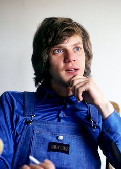 """Malcolm McDowell photographed by Ian Berry, 1973 """