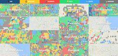 Onde estão os hipsters em sua cidade? Descubra com estes mapas colaborativos