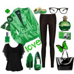 Green and Black Beautiful Style!