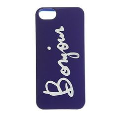 J.Crew 'bonjour' Iphone 5 Cover $26
