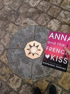 Making wishes at Point Zero. Anna and The French Kiss by Stephanie Perkins