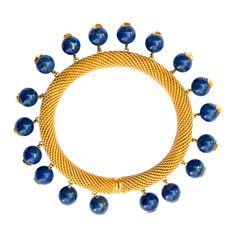VAN CLEEF & ARPELS Lapis Lazuli Bracelet by Georges LEnfant