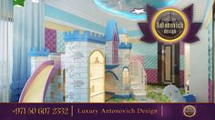 Themed Rooms, Kid Bedrooms, Princess Theme, Room Themes, Kidsroom, Room  Interior, Modern Design, Playroom, Castle