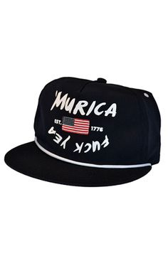 Murica Strapback - Navy by 108 Limited