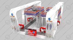 Norm 3ds fair stand exhibition design