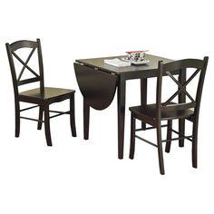 TMS Tiffany 3 Piece Dining Set | Wayfair