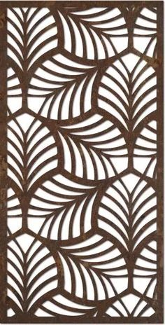 69 Ideas For Decorative Screen Panels Patterns Stencil Patterns, Stencil Designs, Decorative Screen Panels, Decorative Metal, Laser Cut Panels, Laser Cut Screens, Textures Patterns, Geometric Patterns, Leaf Patterns