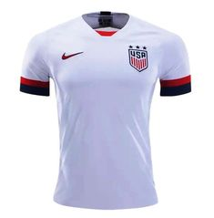 ec65e482c USMNT Nike 2019-2020 HOME Jersey soccer -Whith FAN SHIRT