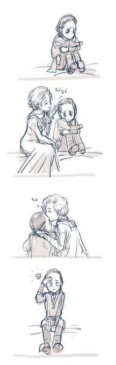 I want to know how Loki feels about his mom! If he doesn't talk to Frigga in the next movie I will be sooo mad!