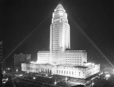 Los Angeles City Hall -Old Hollywood Style | Historic Los Angeles | Vintage Fashion Collection-click for pictures