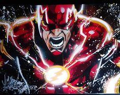 Spray Art By Joe by SprayArtByJoe on Etsy Comic Book Characters, Comic Books, Fictional Characters, Etsy Seller, Darth Vader, Superhero, Comics, Unique Jewelry, Handmade Gifts