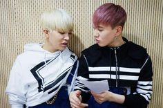 Youngjae and Yugyeom