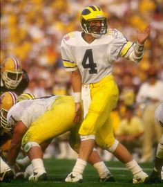 Jim Harbaugh...1st man I wanted to marry...No. 4...GO BLUE!