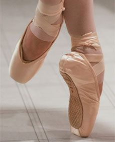 """Introduction to Ballet """"Pointe"""" Shoes https://didyouknowfashion.com/2015/02/04/introduction-to-ballet-pointe-shoes/"""