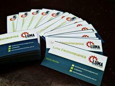 Llegaron nuestras tarjetas personales  #Luma