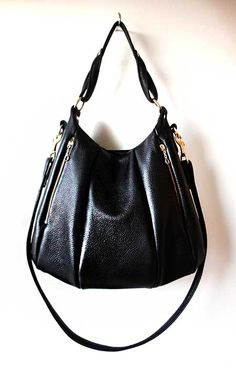Michael Kors Medium Convertible Leather Shoulder Bag Offered By