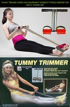 Tummy Trimmer Unisex Gym Equipment Workout Fitness Exercise For Men & Women hdf #plans #parts #technology #kit #fpv #camera #women #products #shopping #gadgets #for #drone #racing #tech #trimmers