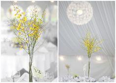 Plain but pretty Wedding Book, Wedding Stuff, Wedding Day, Yellow Bouquets, Yellow Flowers, Yellow Centerpieces, Wedding Decorations, Table Decorations, Yellow Wedding