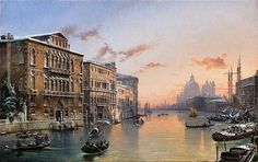 FRIEDRICH NERLY (1807 Erfurt - 1878 Venice) - Winter on the Grand Canal with Santa Maria della Salute, oil on canvas, 65 x 103 cm, signed Estimate:$194 000-237 000 /  https://www.barnebys.com/blog/article/8822/?utm_source=Newsletter+en_US&utm_campaign=ece7fc572d-EMAIL_CAMPAIGN_2016_11_15&utm_medium=email&utm_term=0_dd36bfa54f-ece7fc572d-174905213
