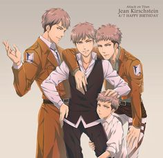 Jean Kirschstein - Attack on Titan - Image - Zerochan Anime Image Board Mikasa, Attack On Titan Jean, Attack On Titan Fanart, Levi X Eren, Armin, Fanarts Anime, Manga Anime, Aot Characters, Fictional Characters