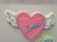 Inspiration fpr next years valentine's cookies.