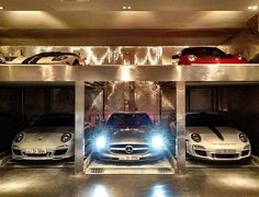 Most amazing garage EVER! We have the Car Lift for Your Garage Fast Financing Available  800-225-7234 www.fastequipment.net
