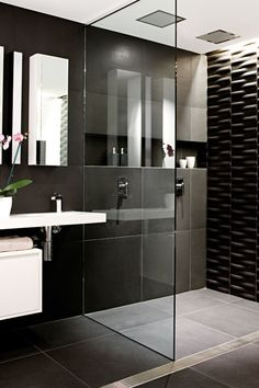 A chic bathroom