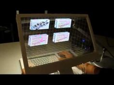 SpaceTop 3D interface lets you reach inside your computer screen
