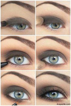 بهترین آموزش آرایش چشم برای مناسبت های ویزه