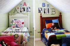 boy and girl shared rooms - Google Search