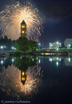 Fourth of July Spokane, WA