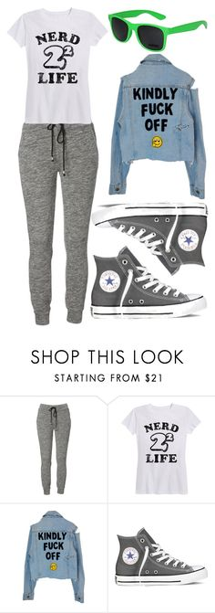 """""""Untitled #310"""" by anjalenabvb on Polyvore featuring Converse"""