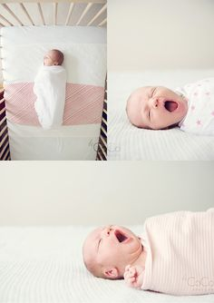Sleepy Baby. Love a good yawner :)