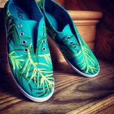 A*Mack Hand Painted Shoes - Love them.