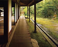 japanese porch and garden
