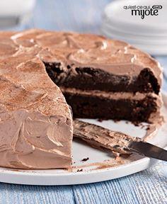 Gâteau au chocolat et à la courgette #recette