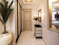 The second element of the #corridor is made in white with silver #ornaments. #Gorgeous golden colour adorns the ceiling Visit http://www.suomenlvis.fi/