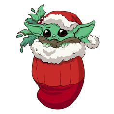 Star Wars Christmas Baby Yoda Sticker. #starwars #Christmas #Cute #BabyYoda #Yoda Cute Christmas Wallpaper, Cute Disney Wallpaper, Cute Cartoon Wallpapers, Christmas Cartoons, Disney Christmas, Christmas Baby, Star Wars Christmas Cards, Christmas Stickers, Xmas