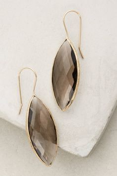 at anthropologie Marquise Drops - grey