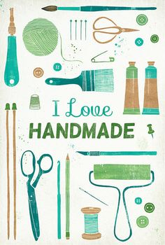 Handmade: I think it is not a fad for me. I have really enjoyed things (gifts, clothes, etc.) lately that are handmade. So much so, that I have become inspired to start making things myself.