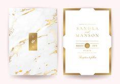 Marble Art, Gold Marble, Hand Logo, Wedding Logos, Marble Texture, Wedding Invitation Cards, Wedding Images, Vector Design, Vector Art