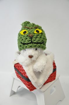 Grinch Hat by JLloPhotographyProps on Etsy, $32.99