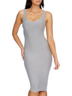 The Hella Soft Midi Dress - LIMITED (AU $70AUD / US $50USD) by Black Milk Clothing